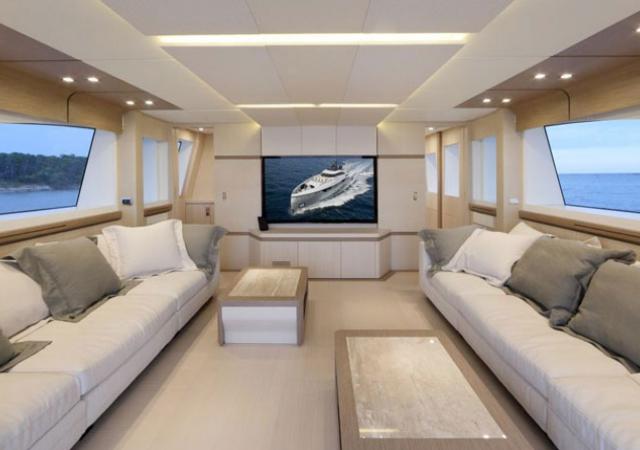 Interiores yates de lujo for Decoracion barcos interiores
