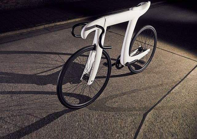 Una bici homenaje al número Pi