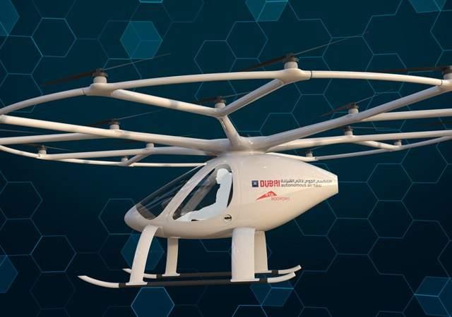 El volcopter, en fase de pruebas