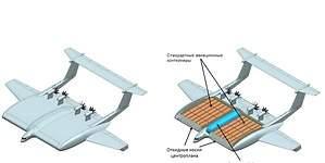 Así es el avión de carga ruso que vuela a 12 metros del suelo