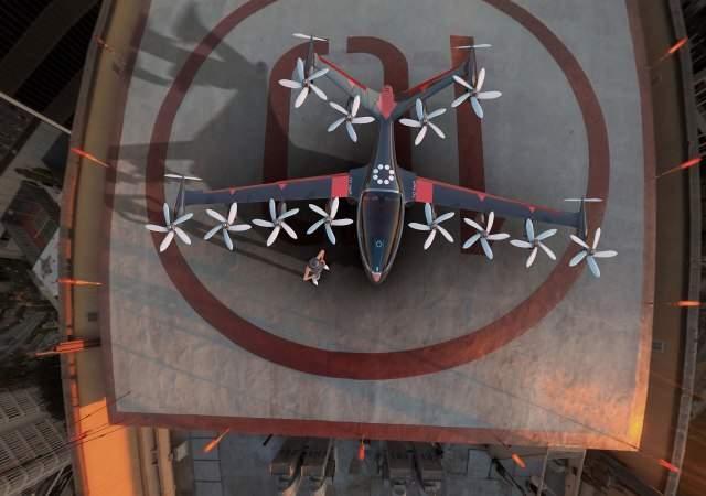 Joby S4, el dron de las 12 hélices