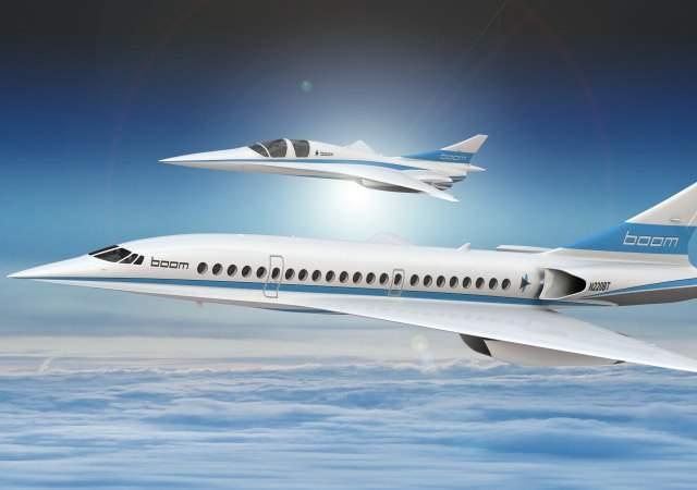 El avión supersónico, en 2018