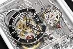 Cabestan y su reloj creado a partir de zafiro