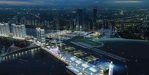 Dubái planea construir el puerto más grande de Medio Oriente con un faro súper tecnológico