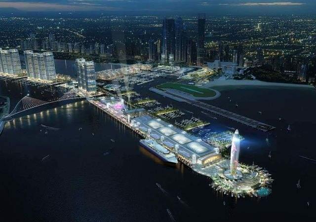 El mayor puerto de Oriente Medio