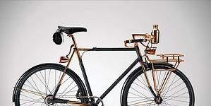 Exclusiva bicicleta de paseo que cuesta 35.000 dólares: un lujo al alcance de muy pocos