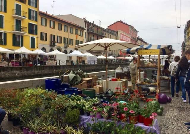 Naviglio Grande, el Milán de los canales