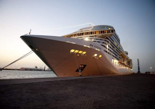 Barcelona, puerto privado de MSC