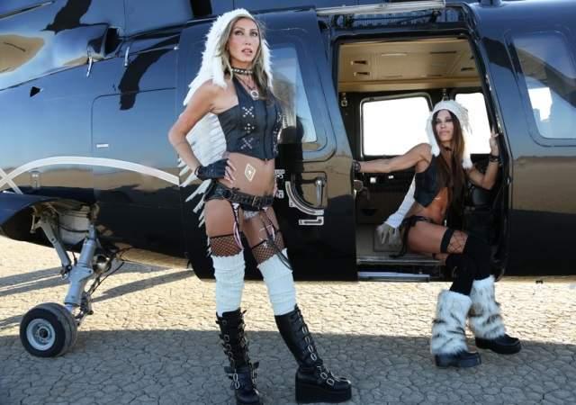Un helicóptero para pijo-hippies