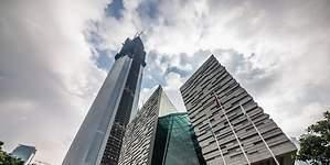 El ascensor más rápido del mundo: 75 kilómetros por hora