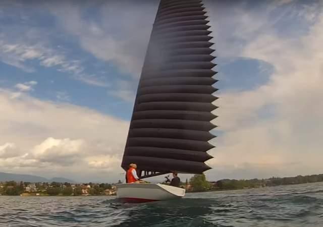 Velas hinchables, revolución náutica