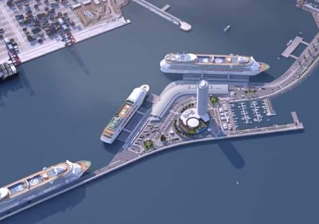 El Málaga Port, un hotel del futuro
