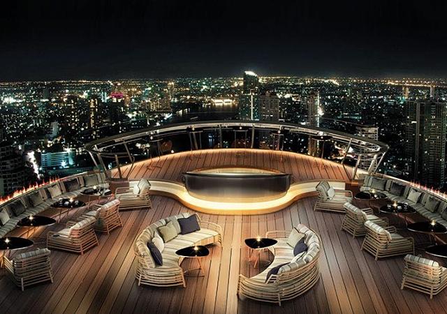 El bar al aire libre más alto del planeta