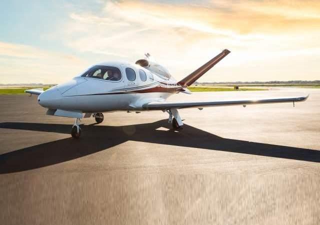 Así es el jet monomotor de Cirrus
