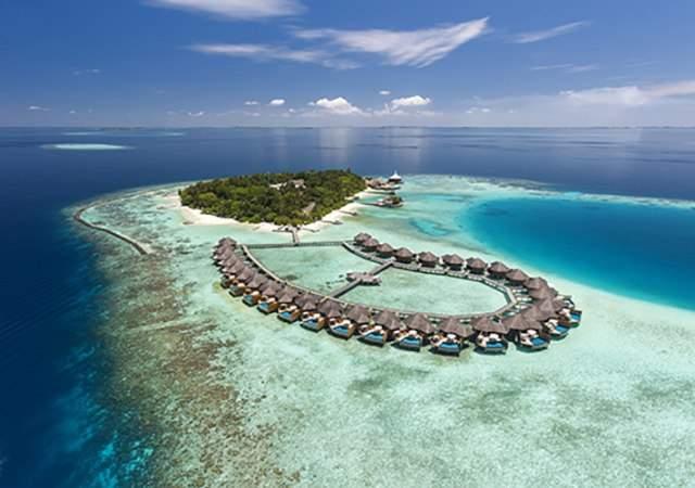 Baros Maldives: un para�so construido sobre un fr�gil sistema coralino