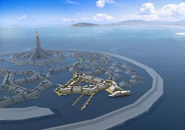 Primera ciudad flotante del mundo