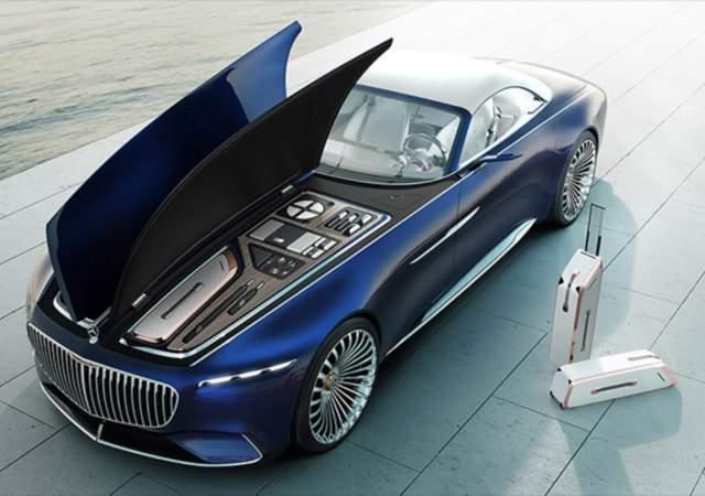 Último coche de lujo de Mercedes