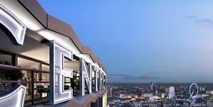 De rascacielos noventero a un complejo residencial de lujo