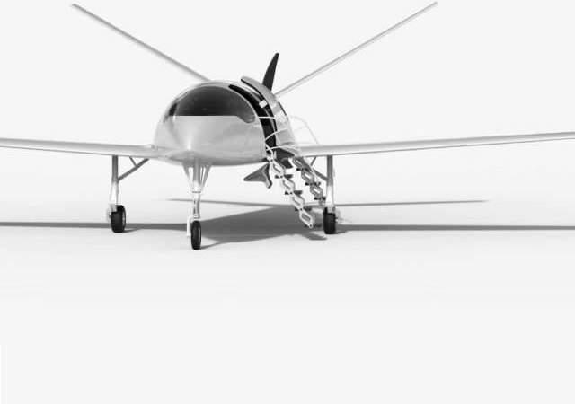 Avión eléctrico para 9 pasajeros