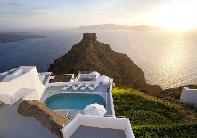 Dos hoteles ultra lujosos de las Islas Cícladas