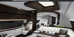 Así será el jet privado más lujoso del mundo