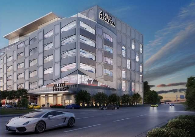 Un edificio para coches de lujo