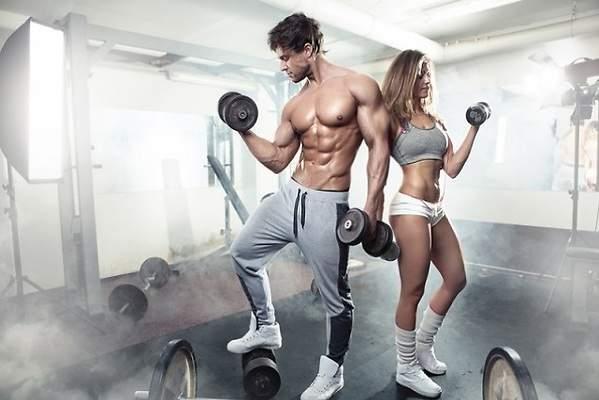 Rutina de ejercicio en el gym para bajar de peso