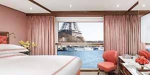 Así es el crucero fluvial más lujoso del mundo que recorre el Sena