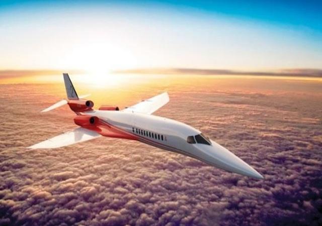 Jet Privato Supersonico : El jet supersónico de airbus y aerion millones