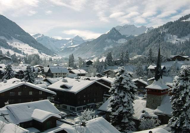 El pueblo suizo de los millonarios