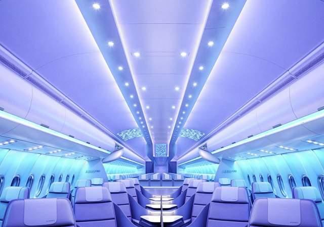 Las nuevas cabinas de Airbus