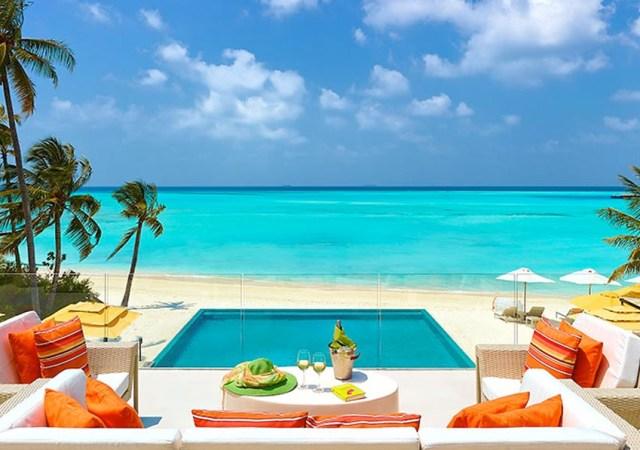 Dos hoteles de lujo en las islas maldivas for Hoteles de lujo fotos