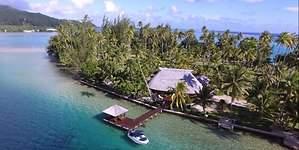 Un paraíso isleño de la Polinesia Francesa, a subasta