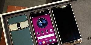 Tres teléfonos de lujo que revolucionan el mercado