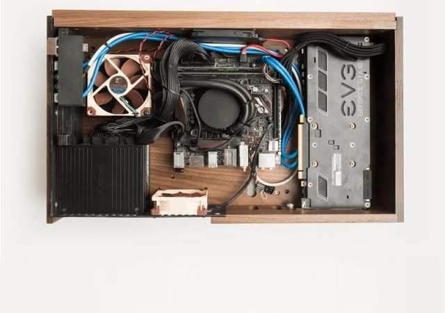 El primer ordenador de madera