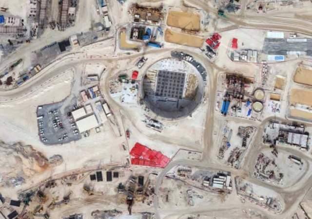 Los cimientos de una megaobra
