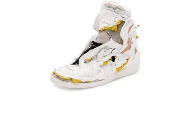 Unas zapatillas deconstruidas