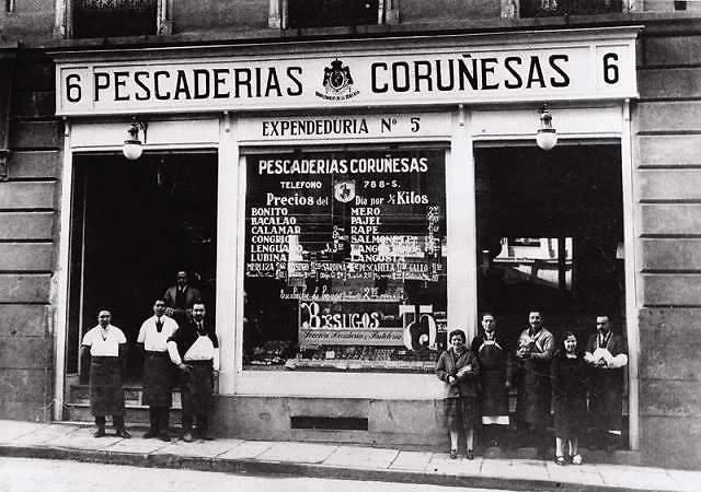 El Dior de las pescaderías español