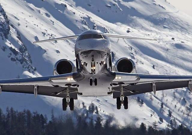 Los aviones privados de los ricos
