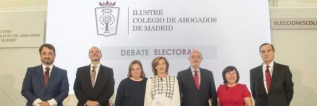 Especial elecciones al Colegio de Abogados de Madrid 2017