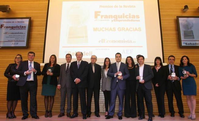 elEconomista entrega sus Premios de la revista Franquicias y Emprendedores