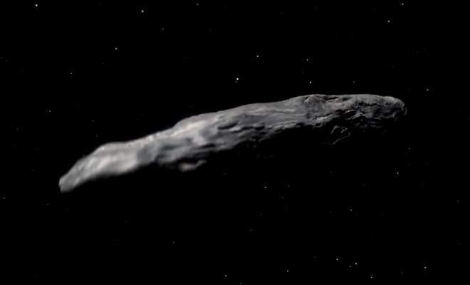 ¿Asteroide o nave espacial?