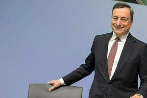 Draghi: Los tipos seguirán bajos