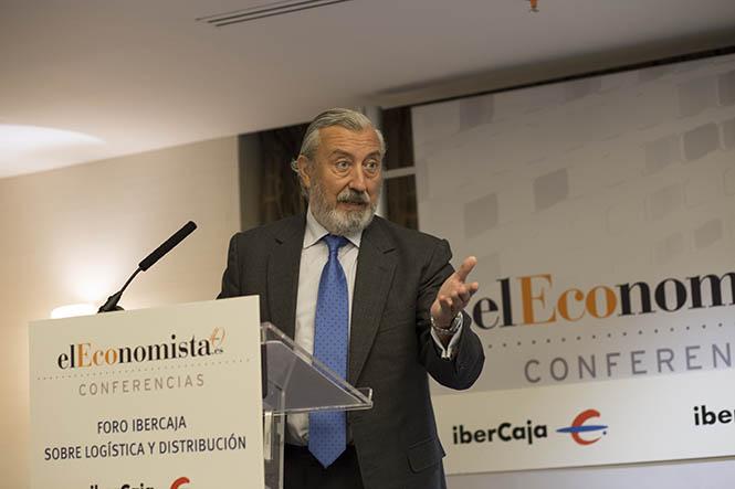 El Secretario de Estado de Infraestructuras, Transporte y Vivienda, Julio Gómez-Pomar, ha participado en el Foro IBERCAJA sobre