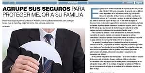 Agrupe sus seguros para proteger mejor a su familia