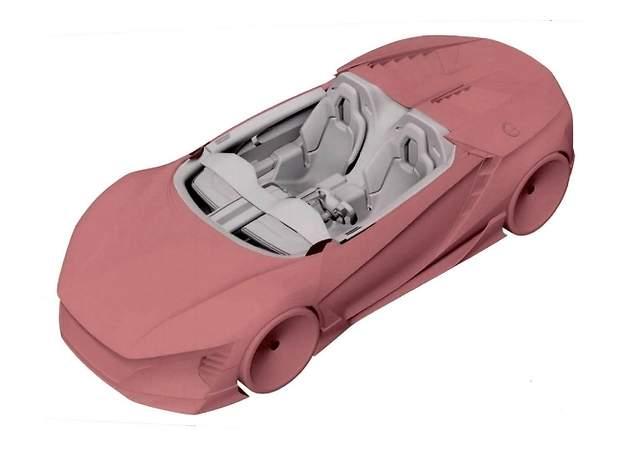 Honda registra las primeras imágenes del interior del mini NSX