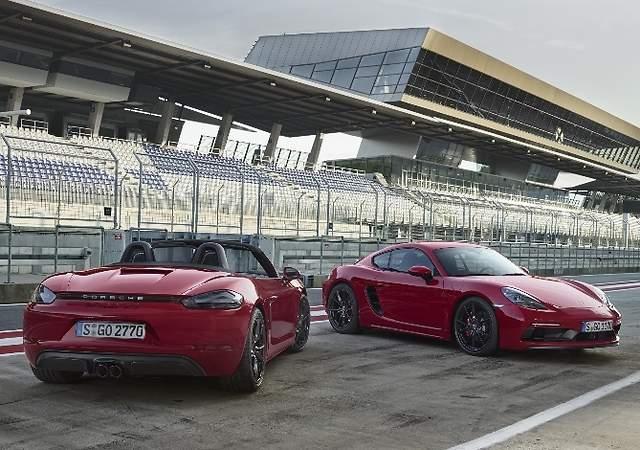 Porsche 718 GTS: los Cayman y Boxter más salvajes