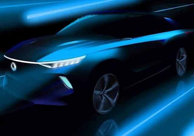 SsangYong e-SIV concept: el SUV compacto eléctrico con 450 km de autonomía que se presentará en el Salón de Ginebra