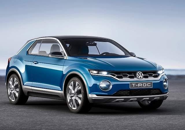 Volkswagen T-Roc: un SUV basado en el Golf para  finales de año