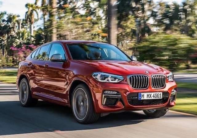 BMW X4 2018: así es la nueva generación del SUV coupé mediano